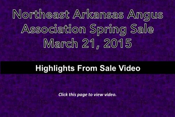 Northeast Arkansas Angus Association Video